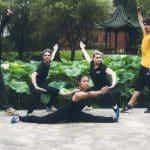 Démonstration de wushu de nos élèves à Shanghai - Loisir