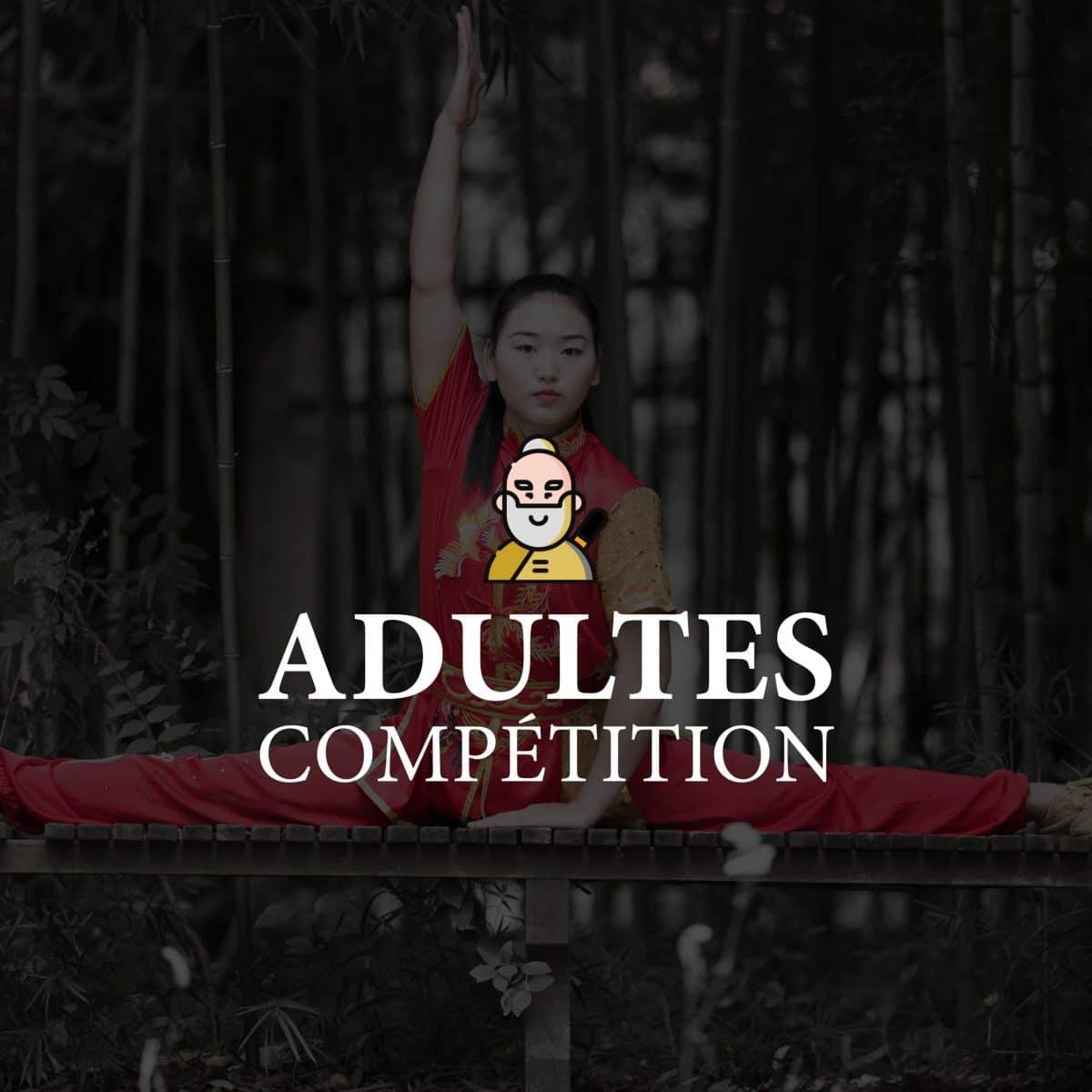 """Cours compétition """"Adultes"""" - la ville de Québec"""