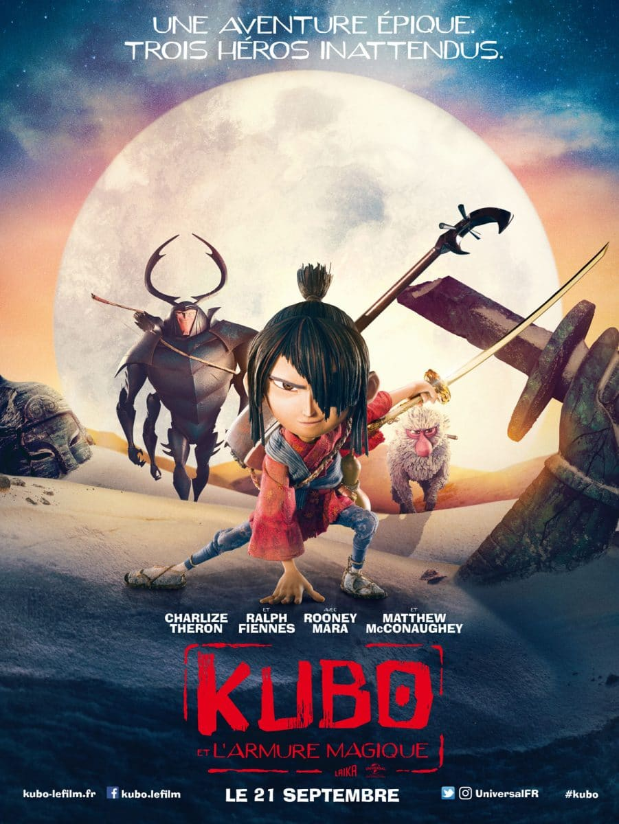 KUBO ET L'ARMURE MAGIQUE - Film poster