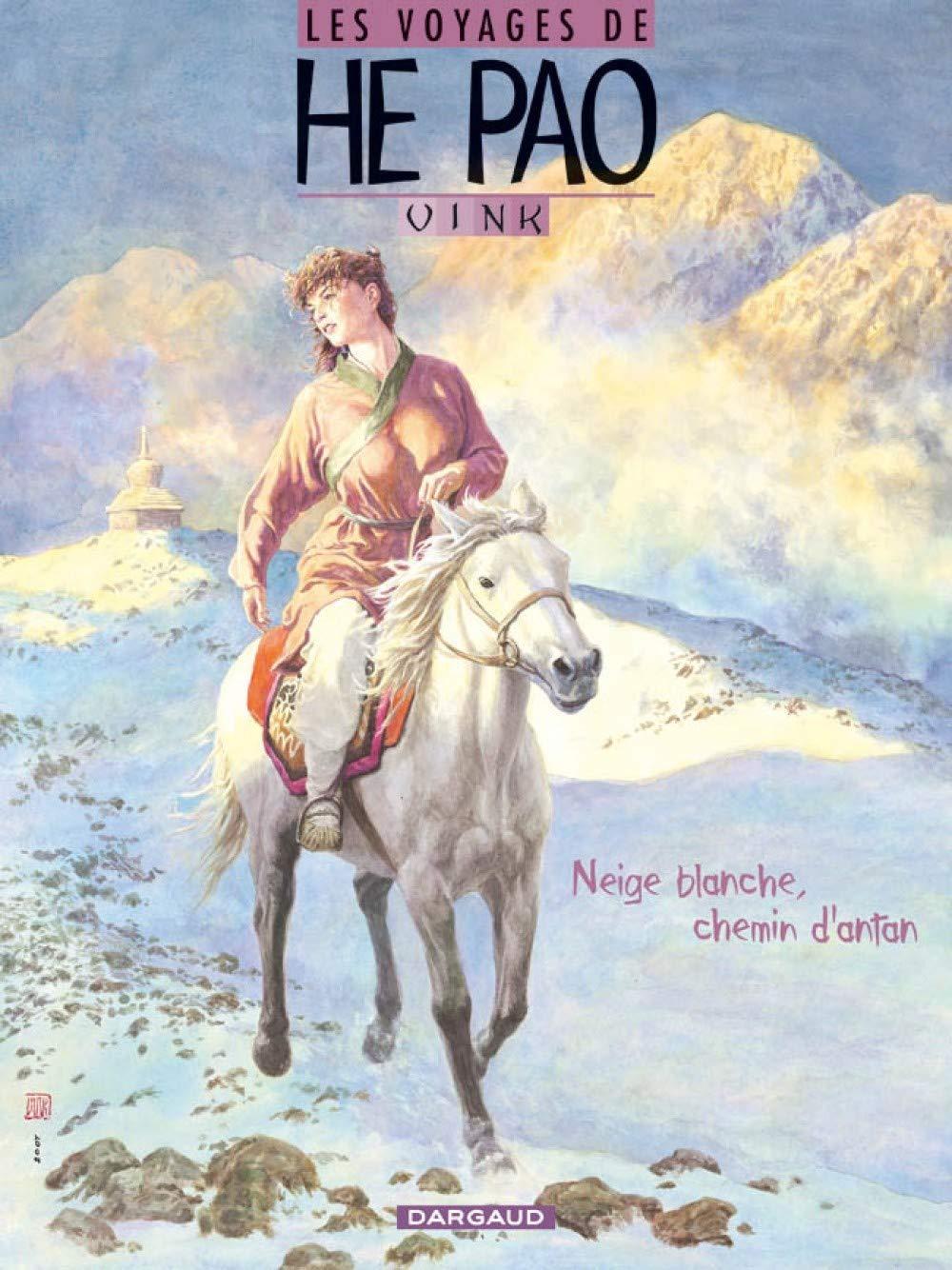Les voyages de He Pao - Neige blanche, chemin d'antan