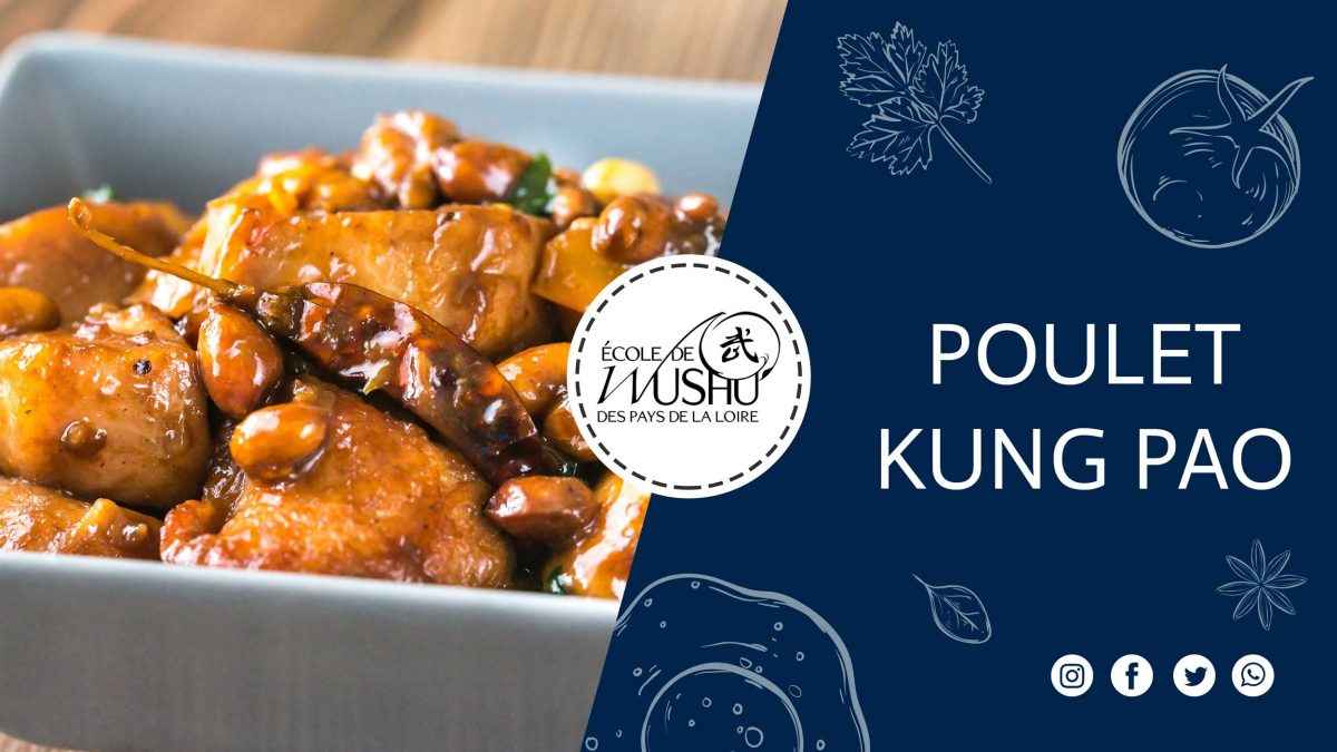POULET KUNG PAO - poulet Kung Pao