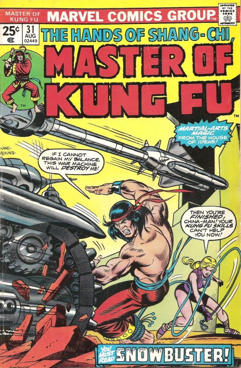 Shang-Chi, Maître du Kung-Fu - Shang-Chi