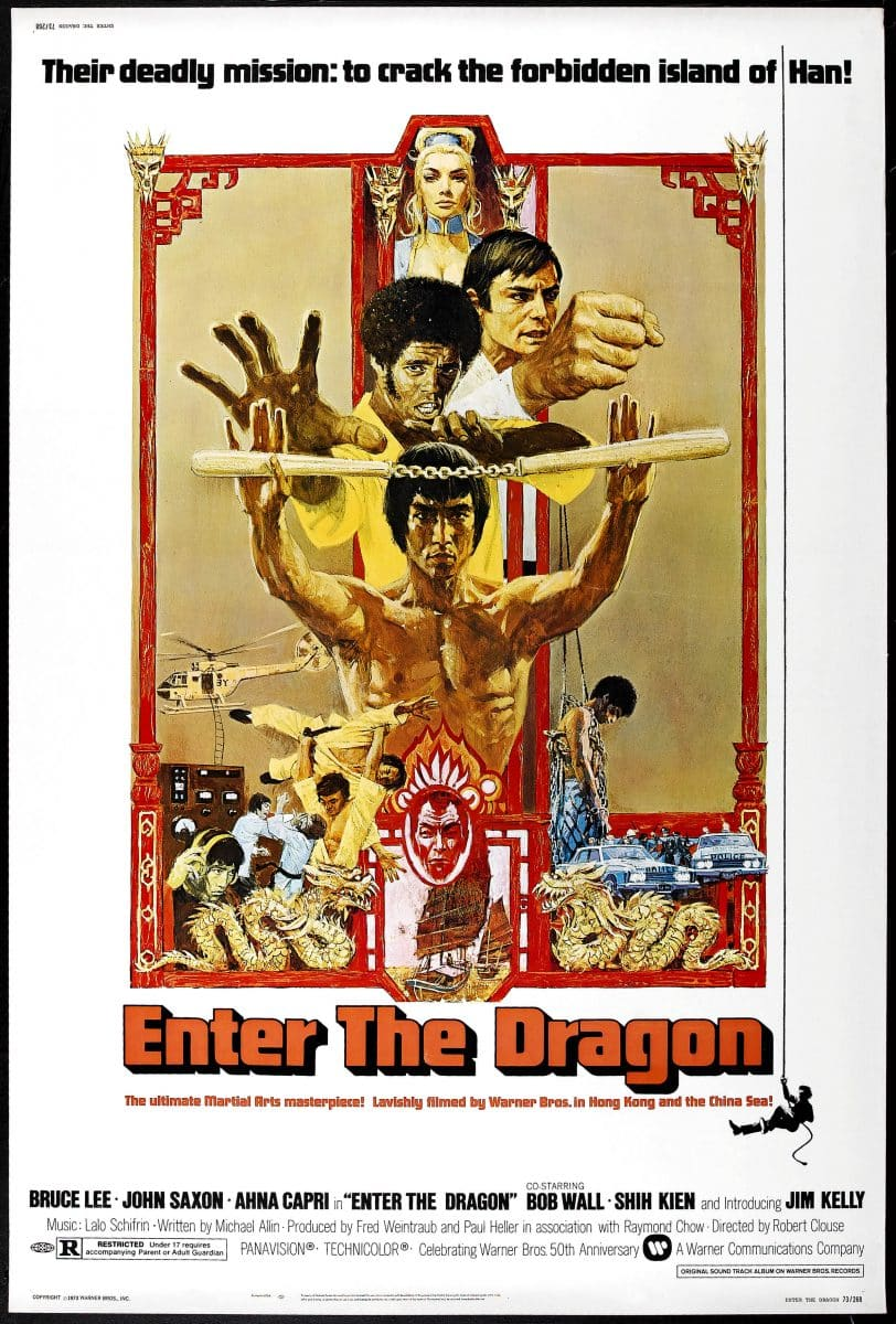 OPÉRATION DRAGON (1973) - Bruce Lee